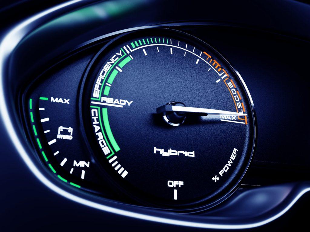 Hybrid Speedo